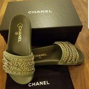 Sold!!! Chanel Cuba Mules 36